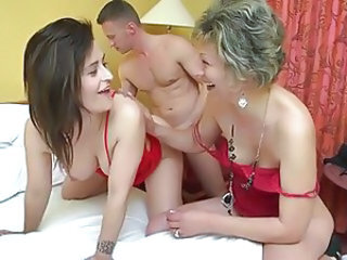 Chubby mom son sex